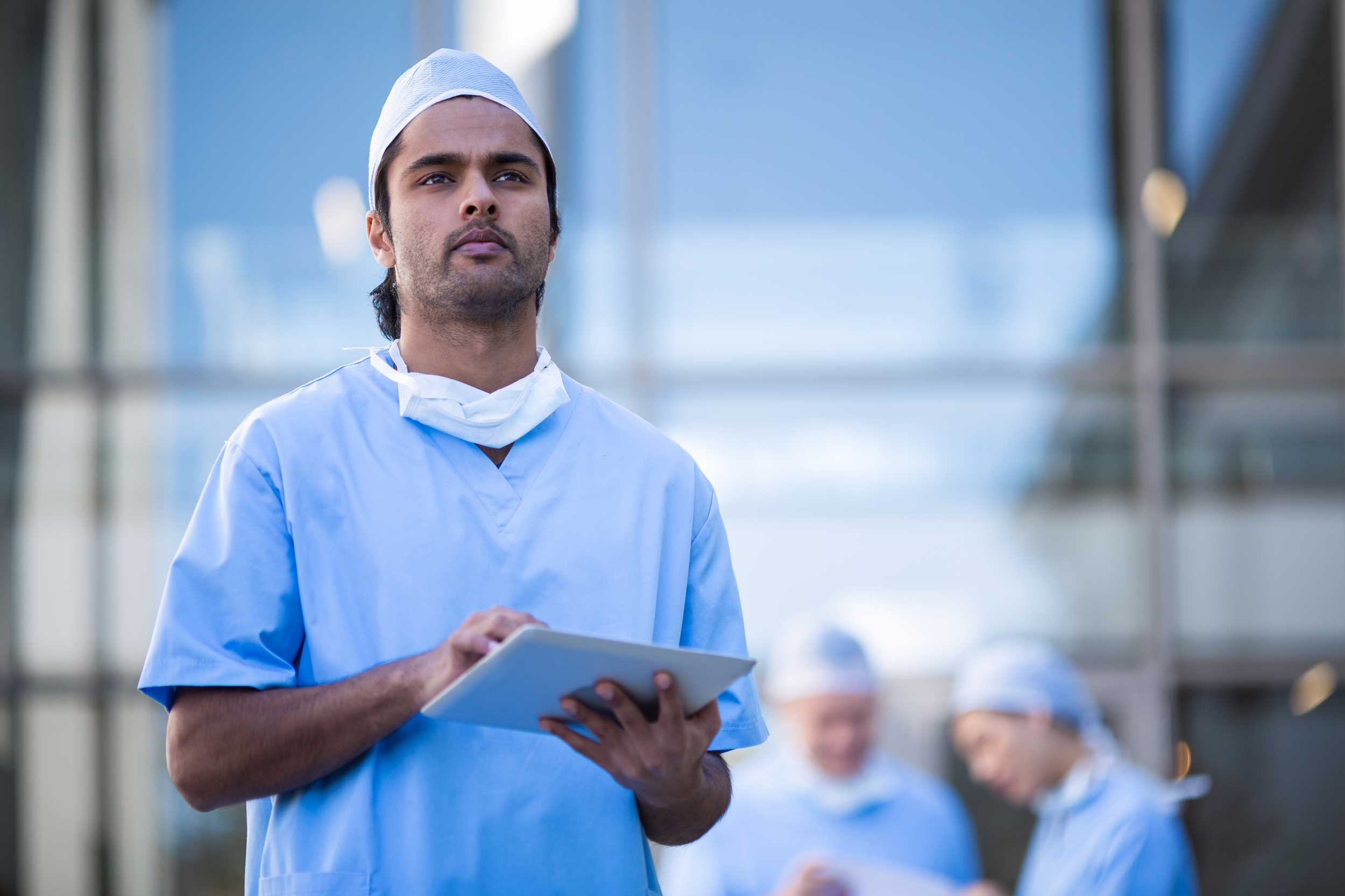 Keeping Healthcare Staff Safe Through mHealth